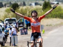 Matteo Dal Cin aveva già vinto una tappa al Tour of the Gila quest'anno © Rally Cycling