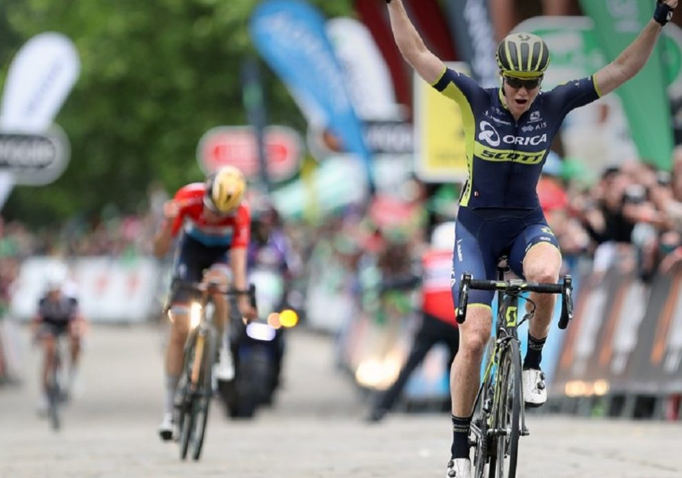 La gioia di Sarah Roy per la vittoria all'OVO Energy Women's Tour © British Cycling