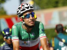 Fabio Aru prima del via di tappa al Tour de France © Bettiniphoto
