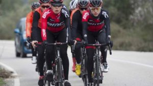 I corridori del BMC Development Team in allenamento © Michael Zanghellini