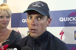Philippe Gilbert alle prese con le interviste © YouTube