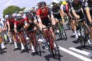 I corridori del BMC Racing Team in gruppo al Tour de France © Tim De Waele