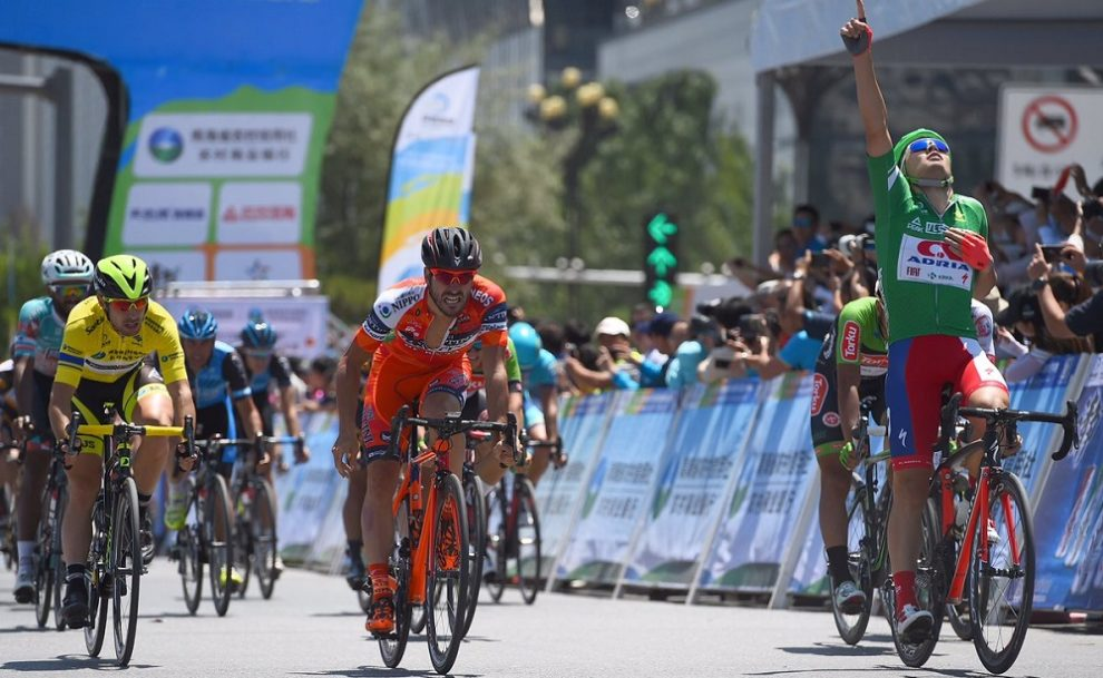 Rajovic batte Stacchiotti © Twitter/Nippo Racing