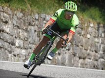 Tom Jelte Slagter impegnato in discesa © Cannondale-Drapac