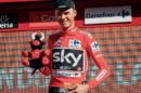 Chris Froome in maglia rossa © Team Sky
