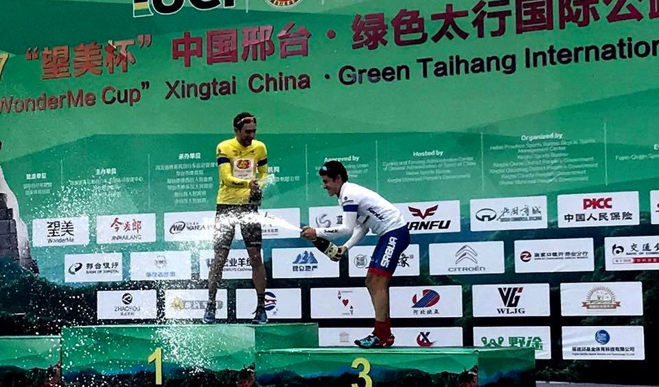 Jacob Rathe vince Tour of Xingtai © Jelly Belly p/b Maxxis