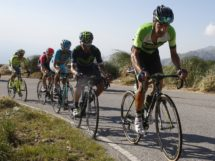 Eduardo Sepúlveda in azione in salita al Tour de San Luis © Bettiniphoto