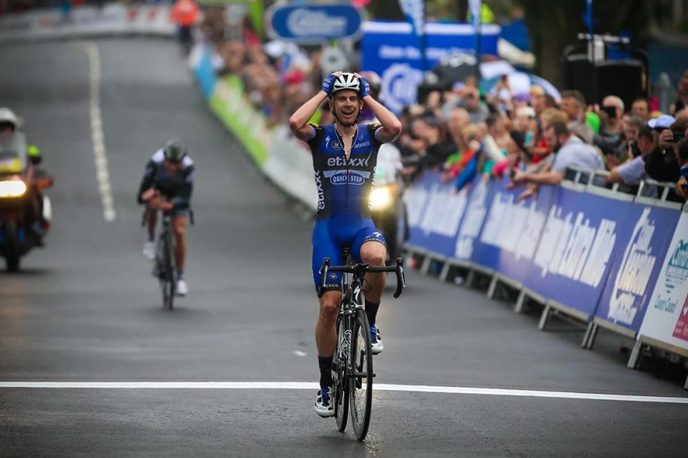 Julien Vermote vince al Tour of Britain © Tout of Britain