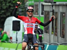 Wellens esulta a Houffalize © Bettiniphoto