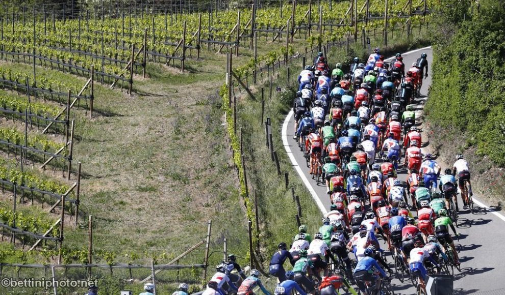 Un'immagine dell'ultimo Tour of the Alps © Bettiniphoto
