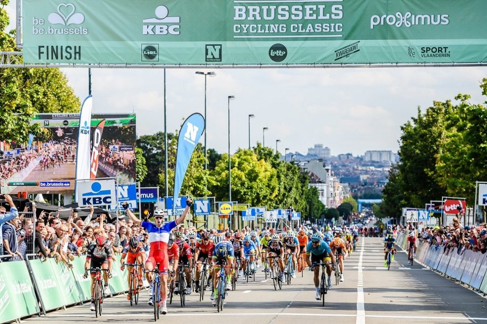 Arnaud Démare vince a Bruxelles © Brussels Cycling Classic
