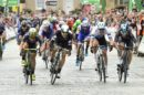 La combattuta volata nella prima tappa del Tour of Britain © Tour of Britain