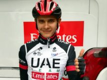 Alexandr Riabushenko in maglia UAE Team Emirates © UAE Team Emirates