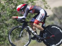 Leah Thomas impegnata nella cronometro del Tour of the GIla © Casey B Gibson