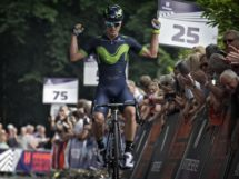 Carlos Betancur impegnato nella Hammer Series © Movistar Team
