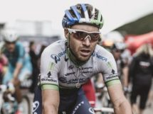 Mitchell Docker in maglia Orica-Scott © Cannondale-Drapac