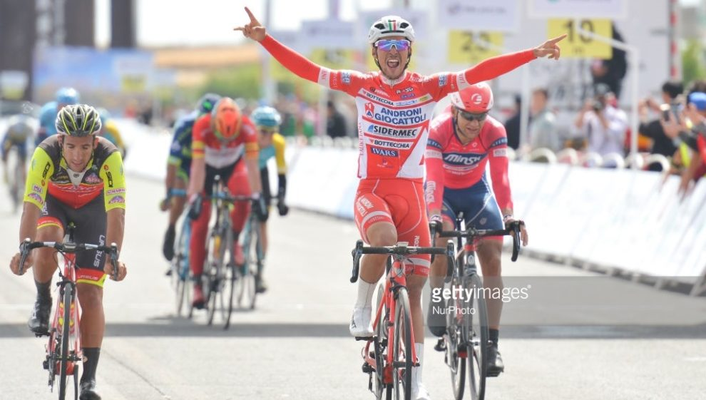 Luca Pacioni al Tour of China I © NurPhoto
