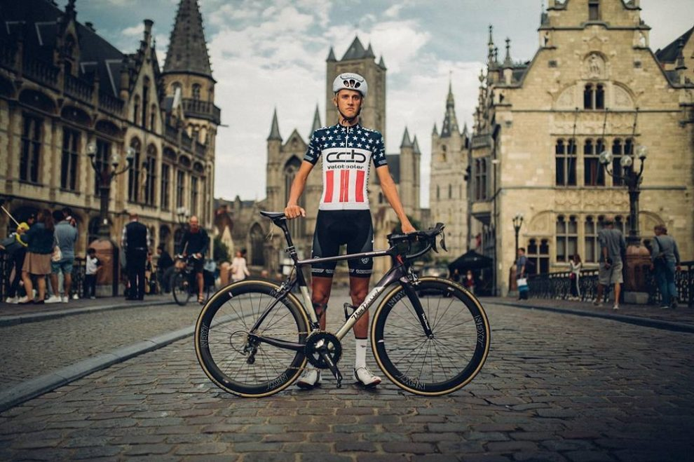 Thomas Revard in posa a Gand © Instagram