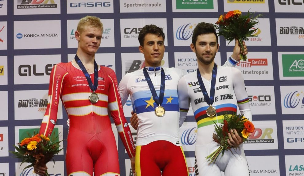 Albert Torres si conferma campione europeo dell'Omnium © Bettiniphoto