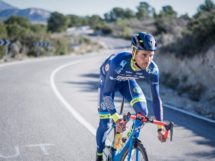 Simone Antonini in allenamento © Wanty-Groupe Gobert