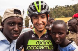 Omer Goldstein al Tour of Rwanda © Facebook