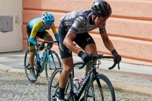 Mattia Bais impegnato al Tour of South Bohemia © Twitter - Tour of South Bohemia