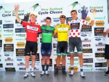 Le maglie dopo la quarta tappa del New Zealand Cycle Classic © New Zealand Cycle Classic