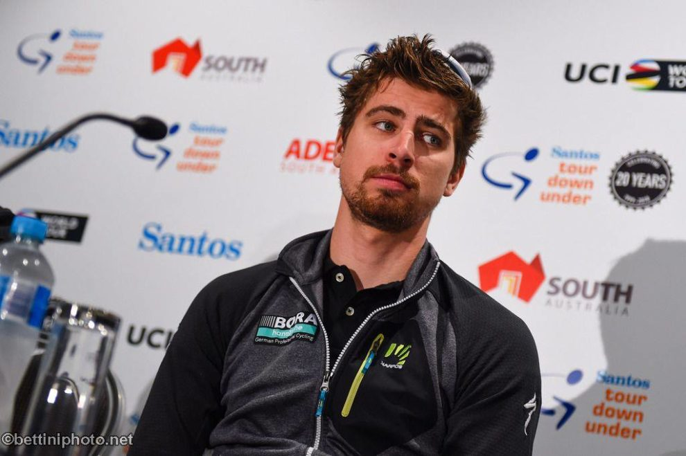 Peter Sagan al Tour Down Under © Bettiniphoto