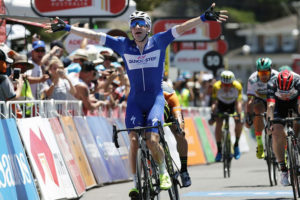 Elia Viviani conquista la terza tappa del Tour Down Under 2018 a Victor Harbor © Santos Tour Down Under