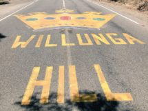 Willunga Hill, la salita più nota del Tour Down Under © Twitter