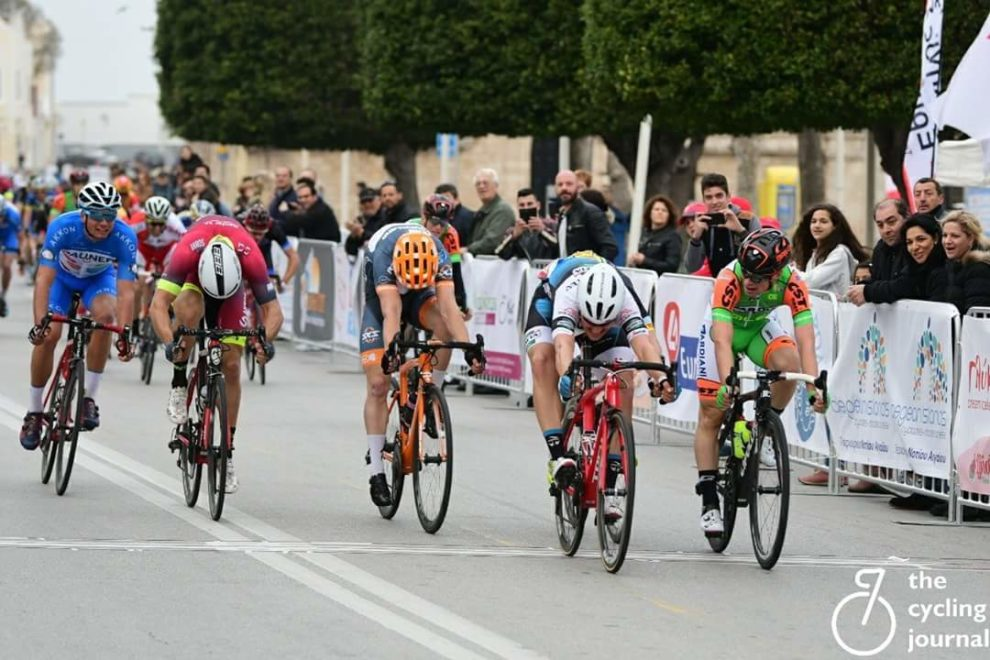 Matteo Moschetti trionfa nell'International Rhodes Gran Prix © The Cycling Journal