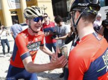 La Bahrain-Merida ha disputato un ottimo Tour of the Alps © Bettiniphoto