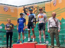 Il podio della seconda tappa del Tour of the Gila © Tour of the Gila