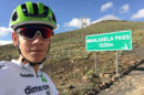 Louis Meintjes in allenamento © Team Dimension Data