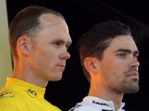 Chris Froome e Tom Dumoulin © Christophe Ena - AP