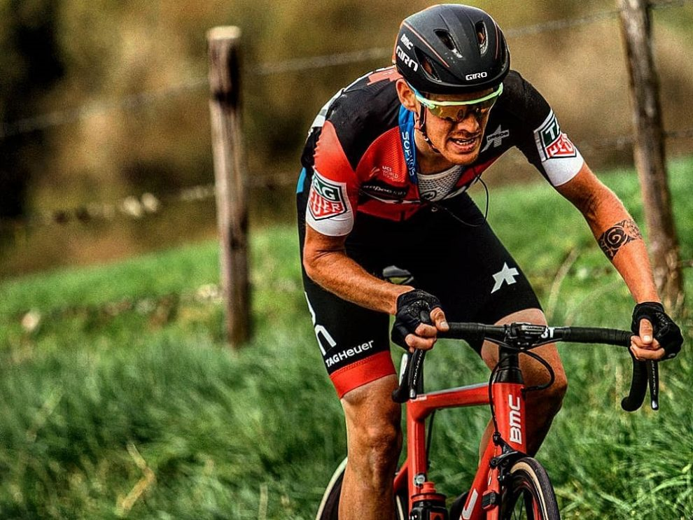 Alessandro De Marchi in azione all'Amstel Gold Race © Chris Auld Photography