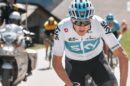 Chris Froome impegnato al Tour of the Alps © Team Sky