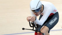Charlie Tanfield in azione © Team England