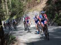 La Groupama-FDJ al lavoro al Tour of the Alps © Pressesports