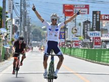 Thomas Lebas vince in fuga al Tour of Japan © Tour of Japan