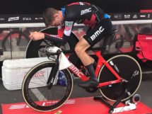 Tejay van Garderen si prepara per la cronometro del Tour of California © BMC Racing Team
