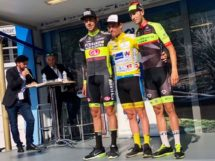 Il podio finale del Paris-Arras Tour © Facebook