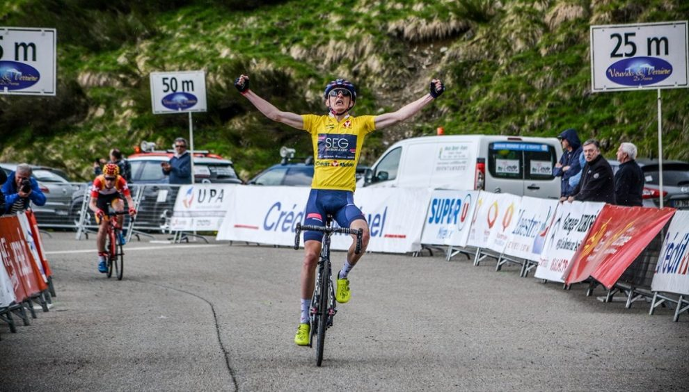 Stephen Williams vince anche a Goulier-Neige © Twitter/Ronde de l'Isard