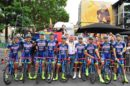 Foto di gruppo per la Wanty-Groupe Gobert al Tour de France 2017 © Wanty-Groupe Gobert