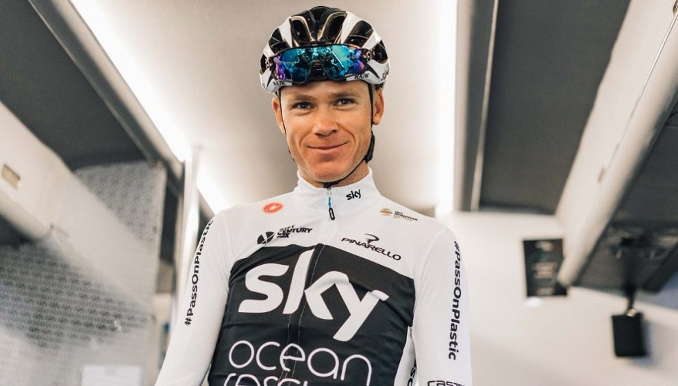 Chris Froome alla vigilia del Tour de France © Team Sky