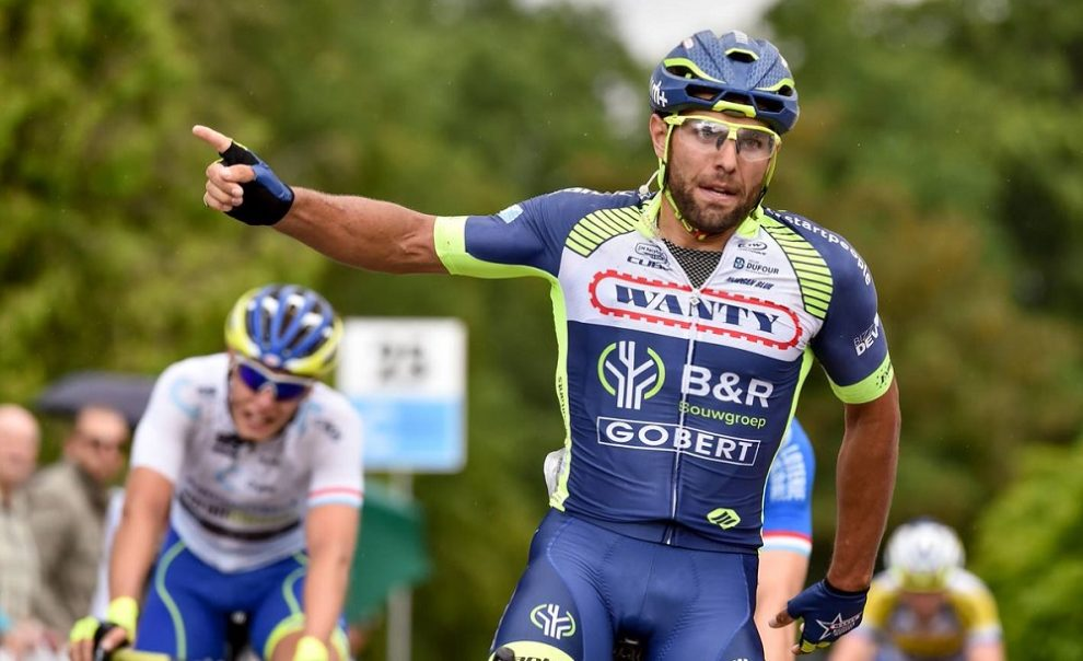 Andrea Pasqualon in maglia Wanty-Groupe Gobert © cyclingpix/Serge Waldbillig