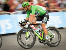 Peter Sagan impegnato nell'ultima tappa del Tour de France © ASO - Bruno Bade