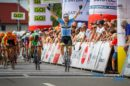 Filippo Fortin esulta al Czech Cycling Tour © Cycling Photography