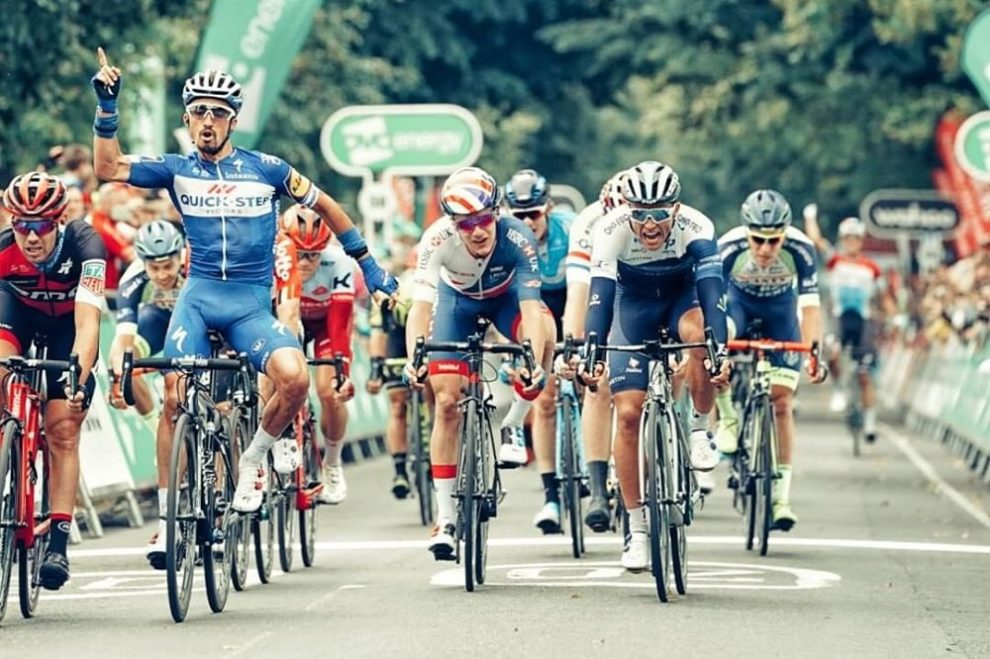 Julian Alaphilippe vince al Tour of Britain © Cycling Images