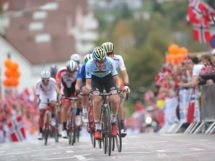 Tim Wellens all'attacco a Bergen © UCI